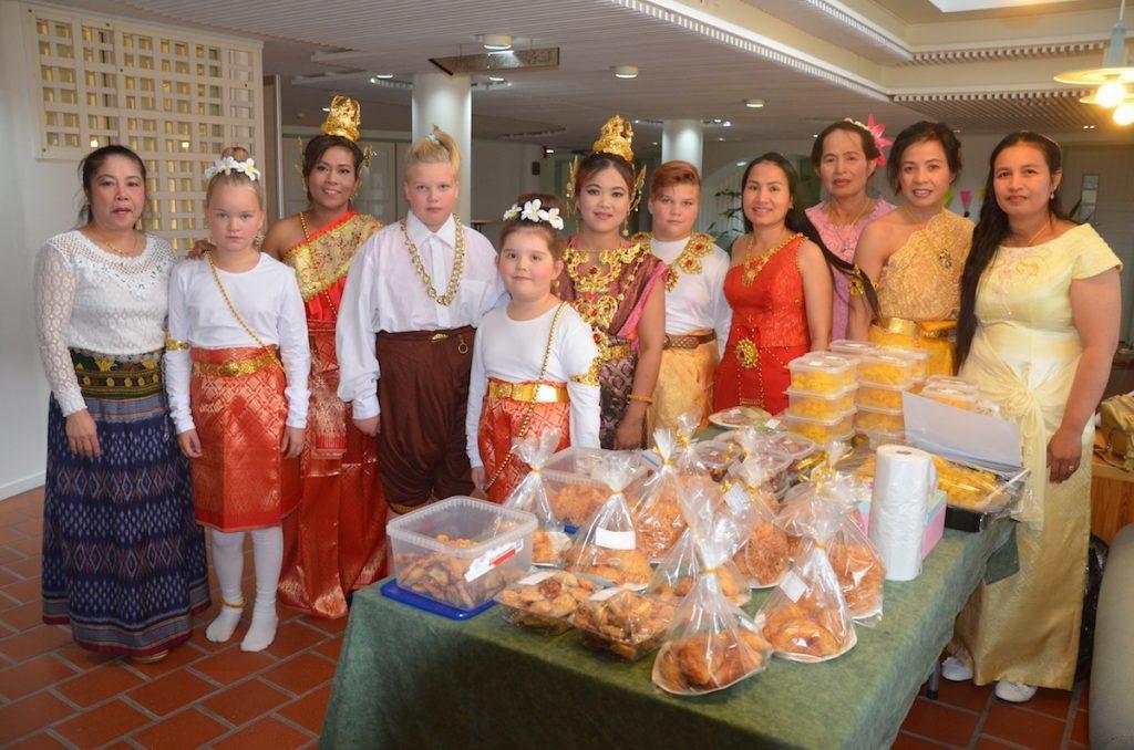 Toholammilla järjestetyssä tilaisuudessa sai tutustua Thai -kulttuuriin.
