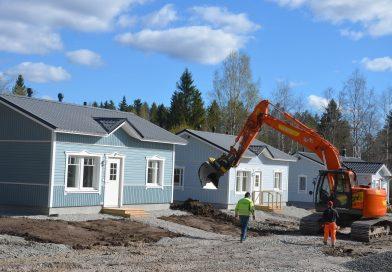 Kylän kehittäminen vaatii asuntoja