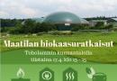 Maatilan biokaasuratkaisut